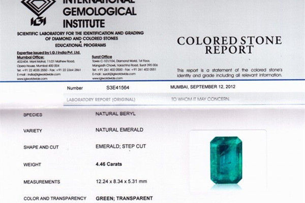 钻石证书有哪几种  第2张