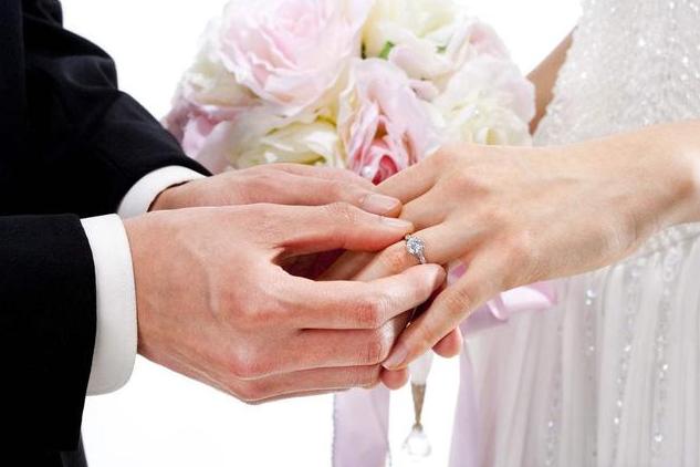 婚礼上戒指戴哪个手指