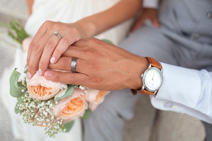 结婚对戒戴哪个手
