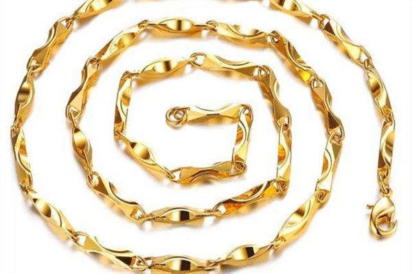 黄金项链哪种最结实  第4张