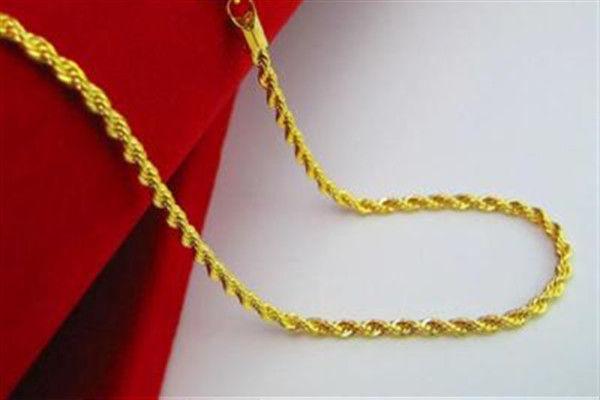 黄金项链哪种最结实  第5张