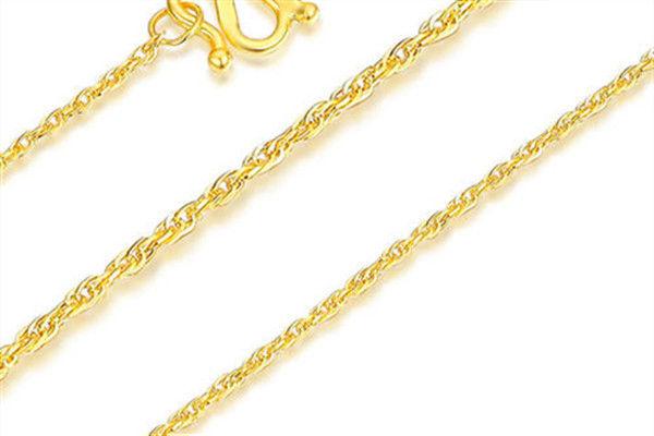黄金项链哪种最结实  第6张