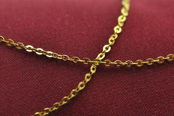 黄金项链哪种最结实  第8张