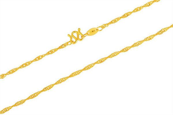 黄金项链哪种最结实  第10张