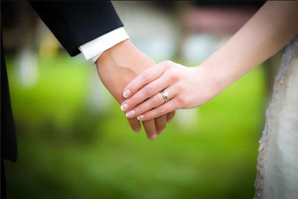 结婚戒指的正确戴法  第1张